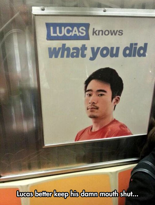 Don't Say A Word, Lucas