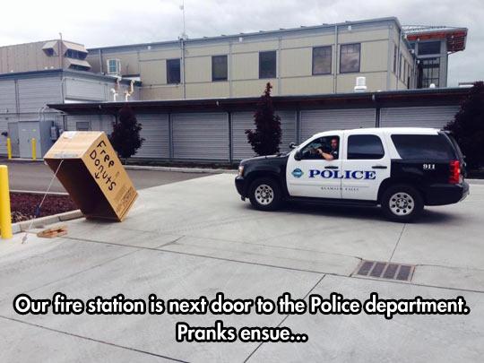 Firefighters Vs. Cops