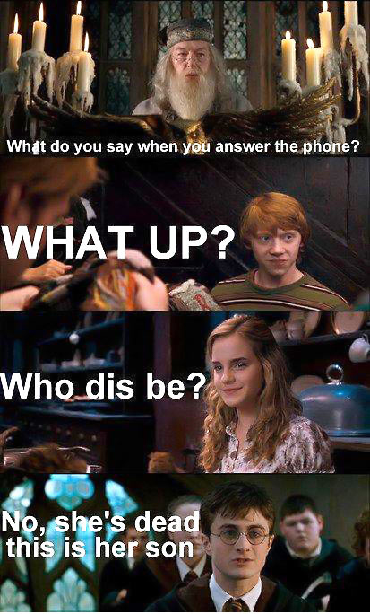 Harry is not amused