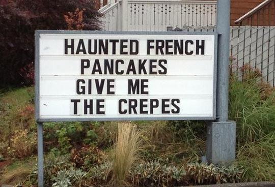 Haunted Pancakes