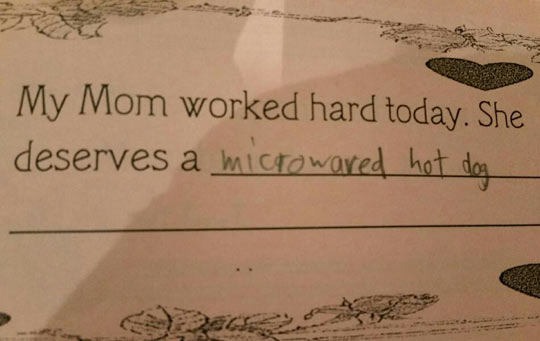 Little Me Knew Exactly How To Show Appreciation For My Mother