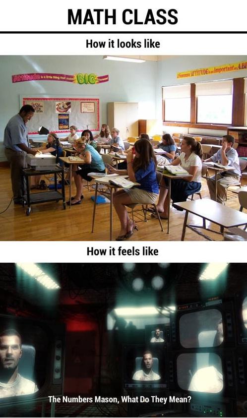 Math Class in a Nutshell