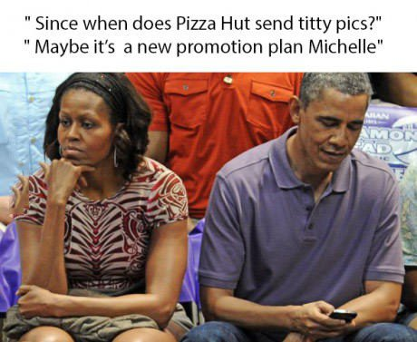 Michelle, you're being a little paranoid.