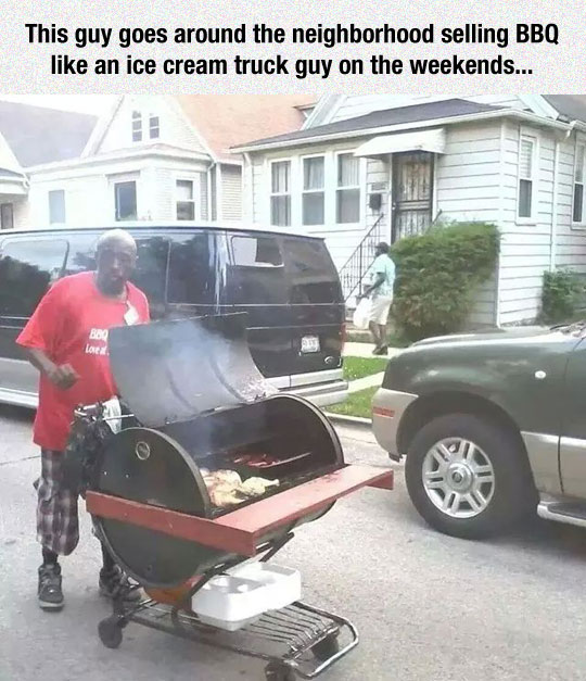 My Neighborhood Needs This Guy
