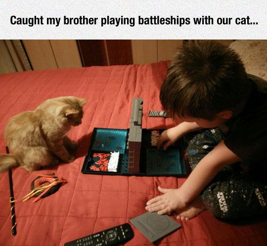 Playing Battleships