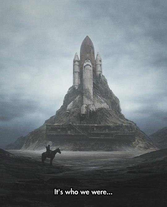 Strange Futuristic Scenery
