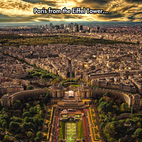Such An Incredible View Of Paris