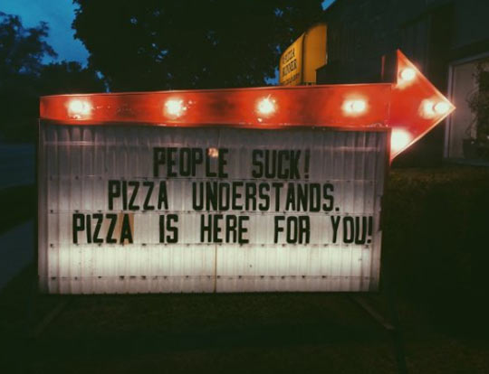Thank You, Pizza