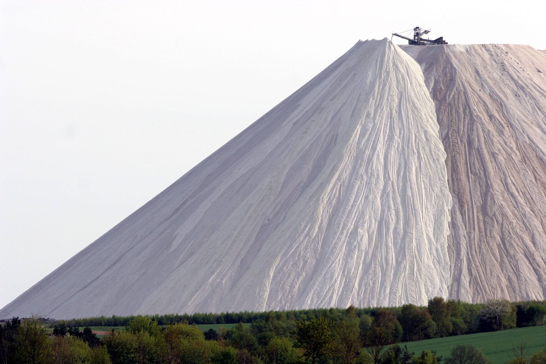 That's one giant pile of salt
