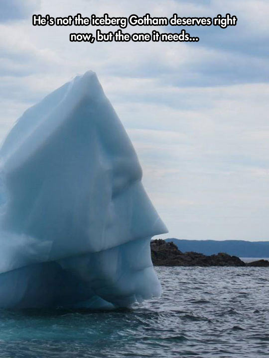 The Dark Iceberg Returns