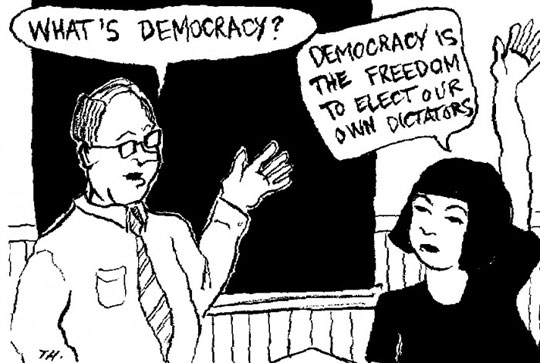 The Meaning Of Democracy