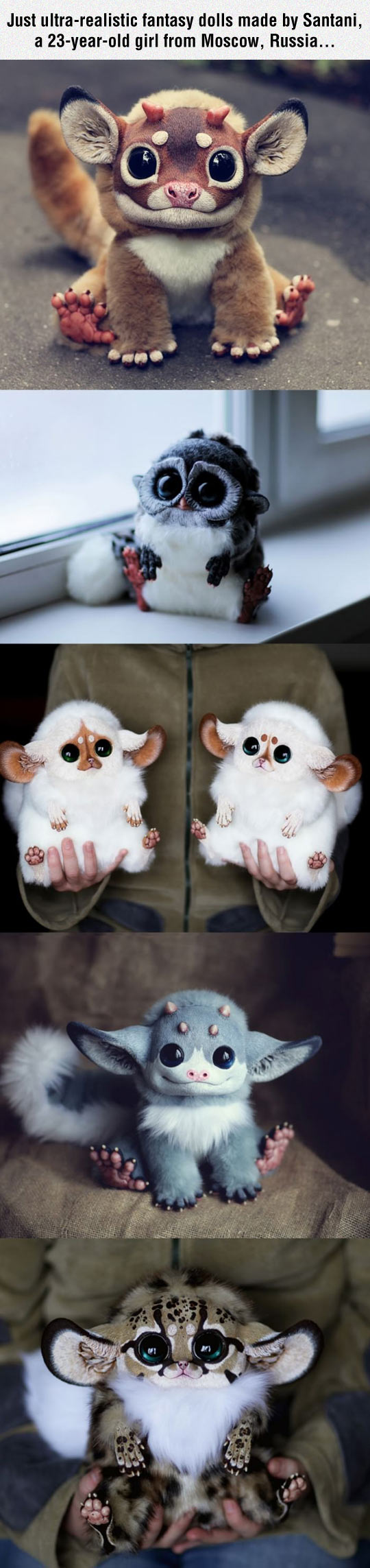 Ultra-Realistic Fantasy Dolls By Santani
