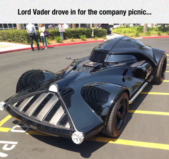 Vader Pays A Visit