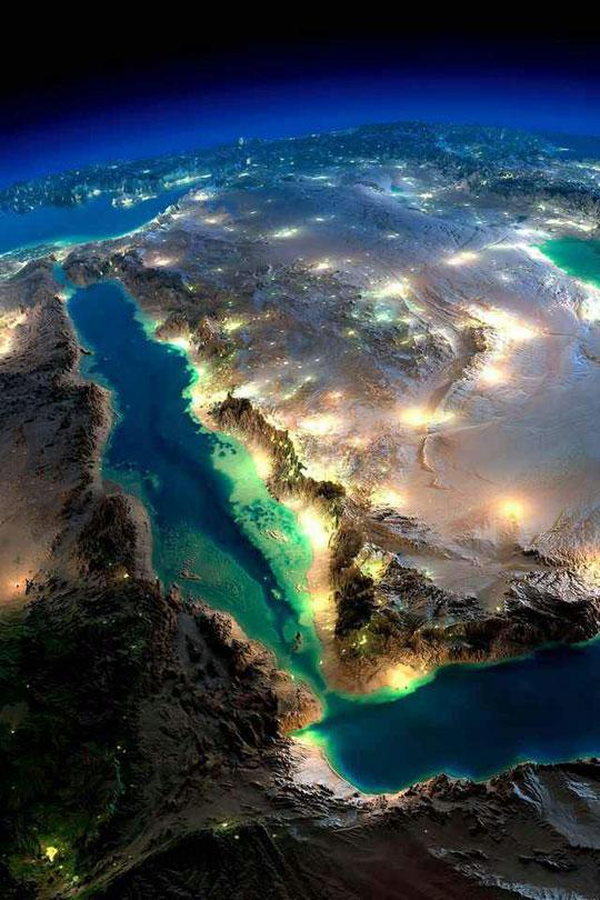 aerial-view-Egypt-mountains