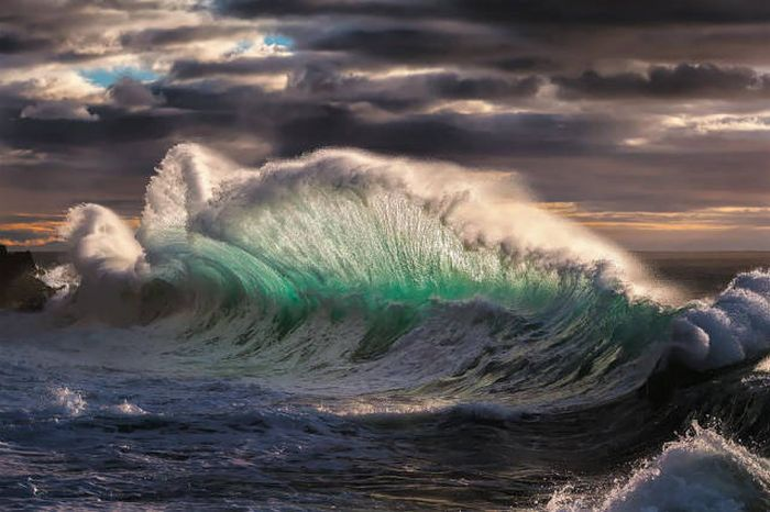 Breaking Waves Create The Most Beautiful Photos.