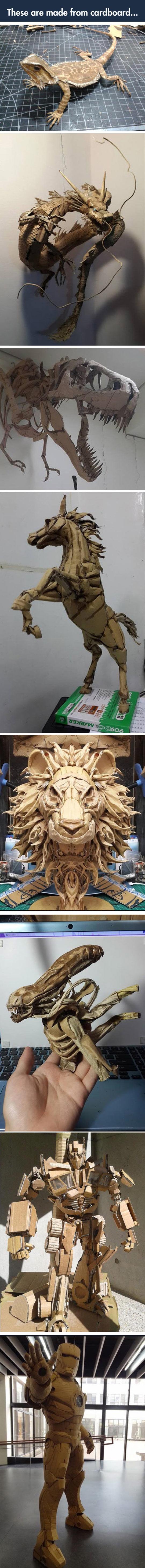 cardboard-animals-dragon