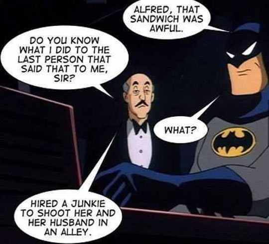 Never Mess With Alfred