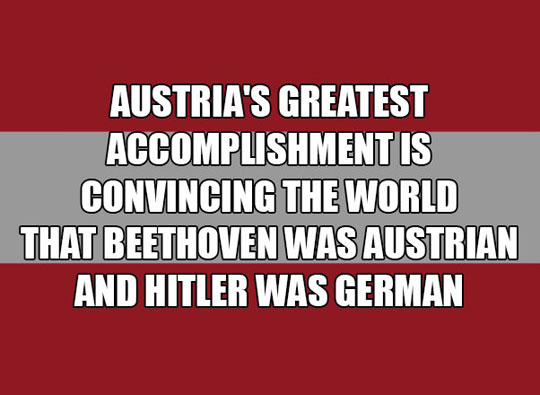 Nicely Done Austria