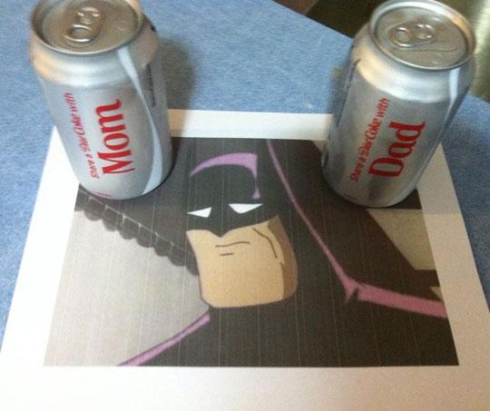 The Reason Batman Drinks Pepsi