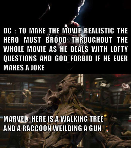 DC Vs. Marvel Making Movies