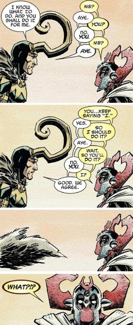 Loki Meets Deadpool