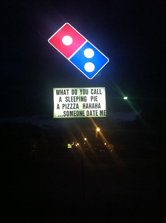cool-Domino-Pizza-pun-sign