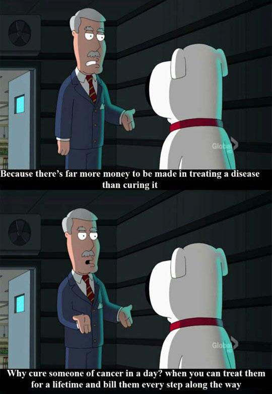 Family Guy Again Telling It Like It Is