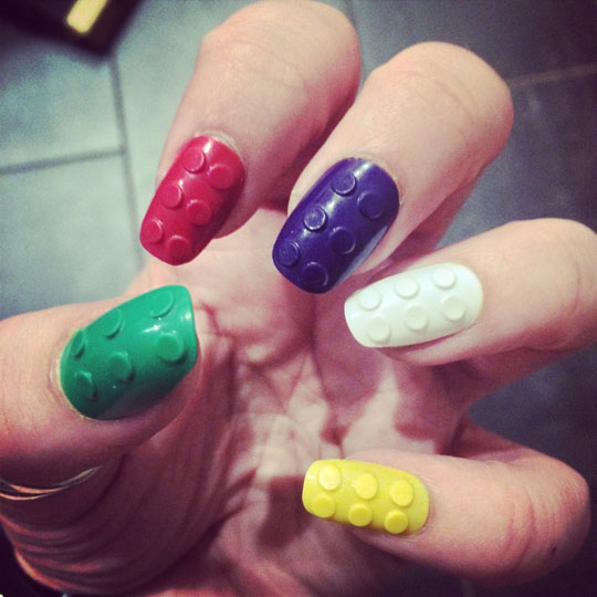Lego Brick Nails