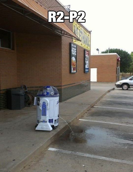 Not The Droid I Was Looking For