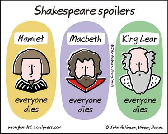 Spoilers In Shakespeare Books