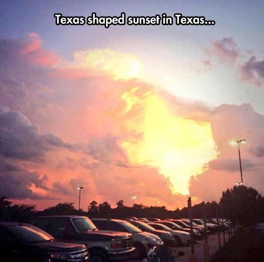 Further Proof That Texans Are The Chosen Ones