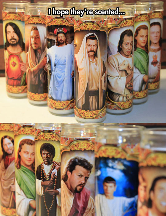 These Candles Are Just Glorious