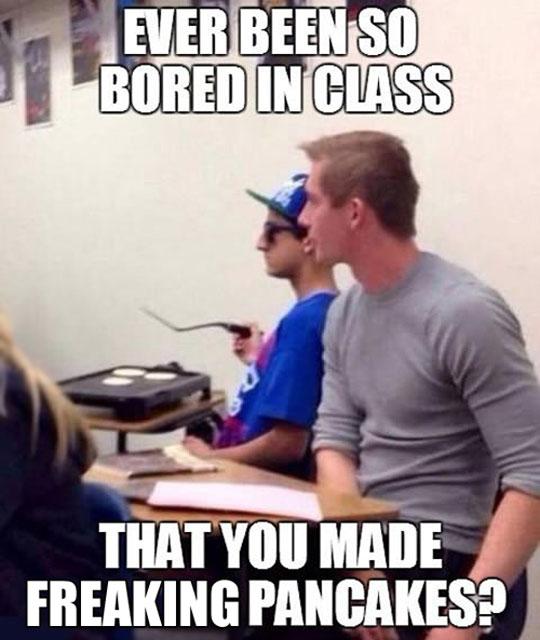 So Bored In Class