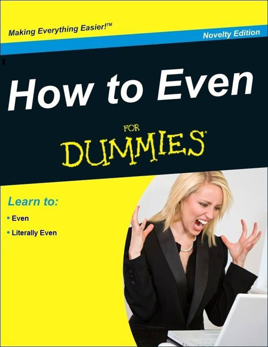 cool-book-For-Dummies-How-Even