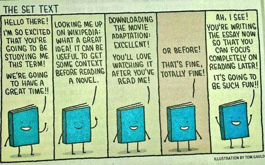 Books Are Optimistic