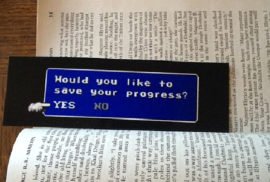 Final Fantasy Bookmark