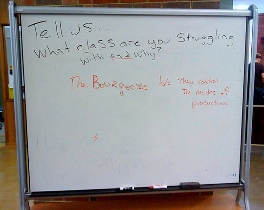 What Class Are You Struggling With?