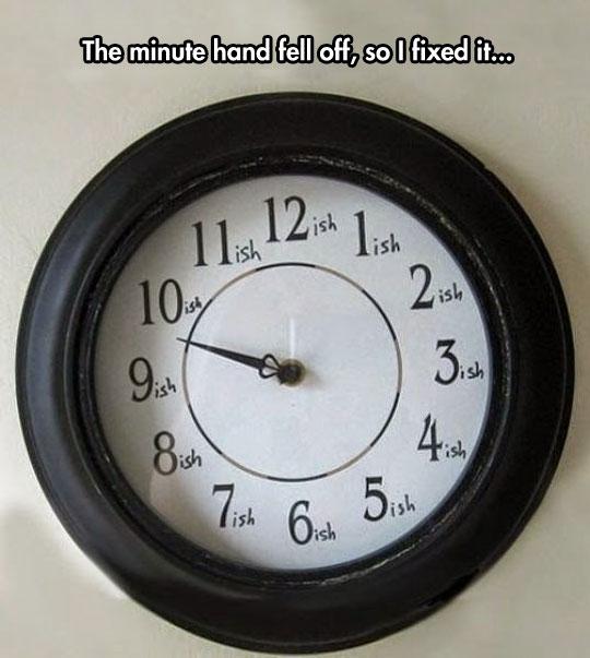 New Clock Design