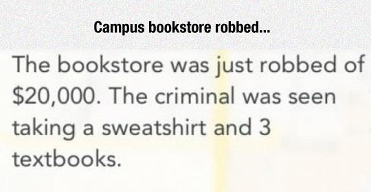 College Bookstore Robbery