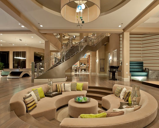 cool-conversation-pit-luxury-fancy-house