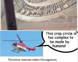 Crop Circles Vs. Technology