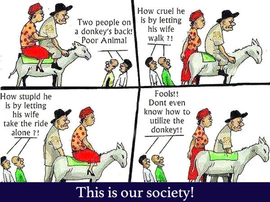 How Our Society Thinks