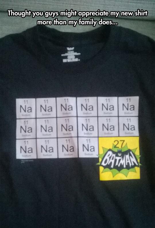 Batman Chemistry