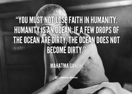 Gandhi Was So Wise