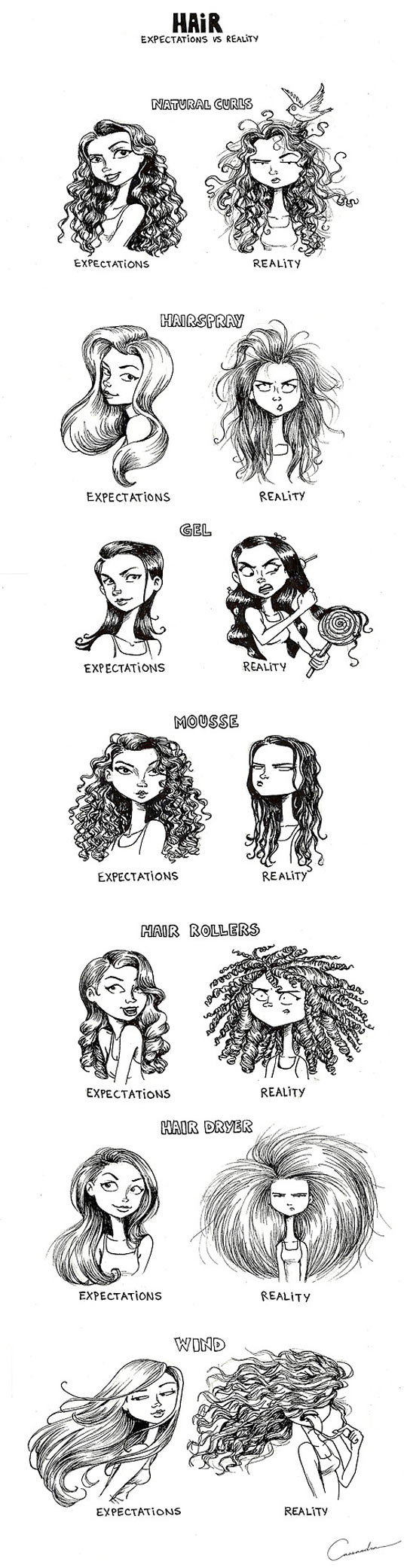 Complicated Relationship With Hair