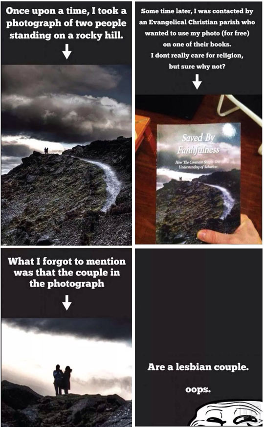 Photography Trolling