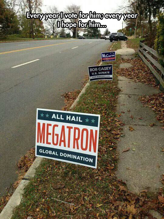 cool-political-yard-signs-Megatron-joke
