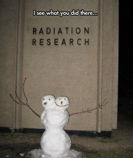 cool-radiation-research-snowman-two-heads