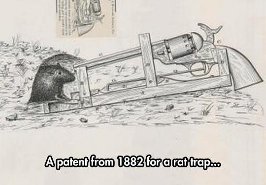 Real Rat Trap Patent