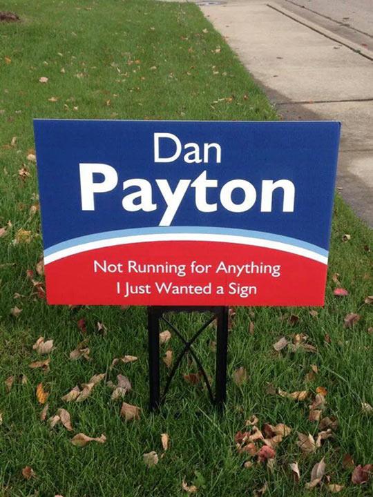 This Man Has My Vote
